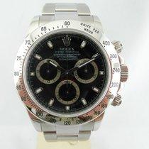 Rolex Daytona,RRR, Acc. nero ,Steel Black Full set