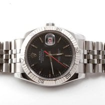 Rolex Mens New Style 116264 Turn-O-Grapgh Datejust - Black...
