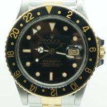 Rolex GMT-Master Black Dial Two Tone Jubilee  c.1986