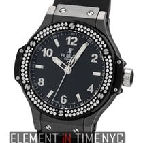 Hublot Big Bang Black Magic Ceramic & Titanium Black Dial...