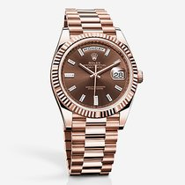 Rolex Day-Date II President 18K Solid Rose Gold Diamond