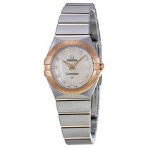 Omega Constellation Brushed Quartz 123.20.24.60.55.001