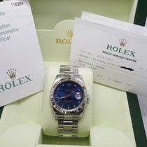 롤렉스 (Rolex) Cally - ROLEX 二手 116264 爬山虎 藍面 巳停產