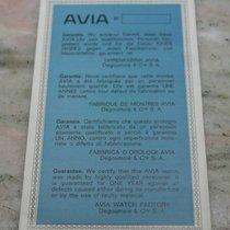 avia vintage warranty booklet rare newoldstock