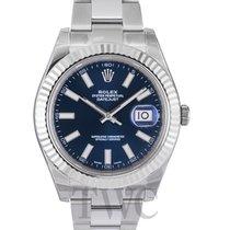 ロレックス (Rolex) Datejust II Blue Dial Oyster Bracelet - 116334
