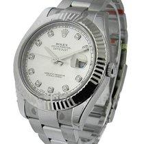 Rolex Unworn 116334 Datejust II 41mm in Steel with White Gold...