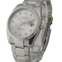 Rolex Unworn 115234sdo Date 34mm with Fluted Bezel and Oyster...