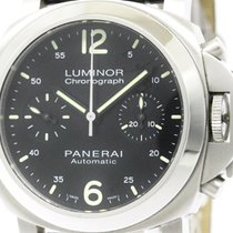 パネライ (Panerai) Polished  Luminor Chronograph Steel Automatic...