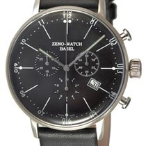 Zeno-Watch Basel -Watch Herrenuhr - Bauhaus Chronograph Quartz...