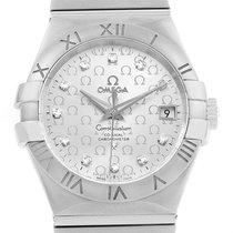 Omega Constellation Steel Diamond Ladies Watch 123.10.35.20.52...