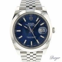 Rolex Datejust 41 Blue Jubilee