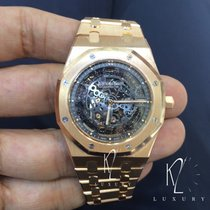 Audemars Piguet Royal Oak Openworked Extra-Thin Full Rose Gold