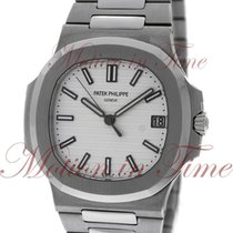 Patek Philippe Nautilus, White Dial - Stainless Steel on Bracelet