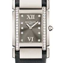 Πατέκ Φιλίπ (Patek Philippe) TWENTY-4 Medium White Gold Grey...