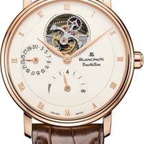 Blancpain Villeret Tourbillon 8 Day Power Reserve  6025-3642-55b