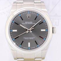 Rolex Oyster Perpetual Dark Rhodium Rehaut 2015 LC100 wie Neu...