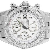 Breitling Mens Breitling A13356 Evolution Chronomat 43 MM...