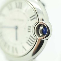 Cartier Ballon Bleu 36mm Midsize Stainless Steel Quartz Watch...