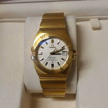 Omega Constellation DOUBLE EAGLE Co-Axial Automatic Gold   18k