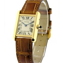 Cartier W1529856 Tank Louis Cartier - Small Size - Yellow Gold...