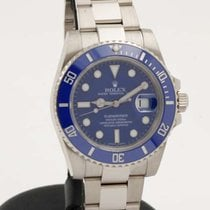 Rolex Submariner blue ceramic white gold 116619LB