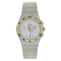 Omega Constellation Yellow Gold Quartz Chronograph