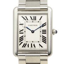 Cartier Tank Stainless Steel Silvery White Quartz W5200014