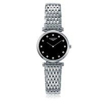 Longines La Grande Classique Black Dial Diamond Ladies Watch...