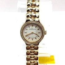 Tiffany & Co. Tesoro 18k Yellow Gold Ladies Watch W/...