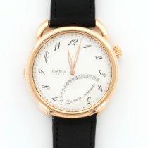 Hermès Rose Gold Arceau Le Temps Suspendu Watch Ref. AR8.970