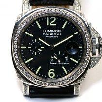 Panerai Custom 5.5ct VVS Diamond Bezel & Case PAM 90...