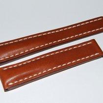 Breitling Kalbslederband für Faltschließe  Braun 20-18 mm