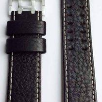 Hamilton Khaki X-Wind Lederband dunkelbraun H600.765.106