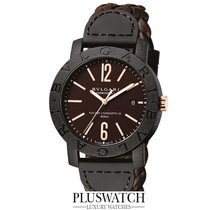 Bulgari Carbon Gold Automatic 40mm Brown Dial T  102633