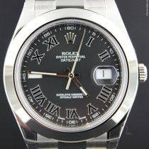 Rolex Datejust II Steel 41MM, Dark Grey Dial,Full Set 116300