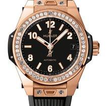Hublot Big Bang 39mm One Klick Gold Diamonds Automatic Watch