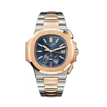 Patek Philippe Nautilus Stainless Steel and Rose Gold Men