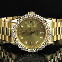 Rolex 18K Mens Yellow Gold Rolex Presidential 18038 Day-Date...