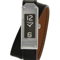 Hermès Kelly 2 wristwatch en acier Ref : KT1.210 Vers 2000