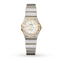 Omega Constellation 18ct Yellow Gold and Steel Ladies Watch...
