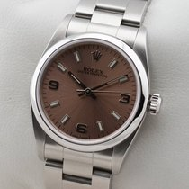 Rolex Oyster Perpetual Medium Mid Size 31mm Rosé Kupfer Automatic