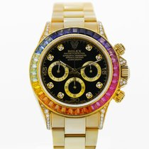 Rolex Daytona 40mm Ref# 116598RBOW 18k Yellow Gold 2 year...