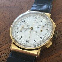 Longines Vintage 18K gold flyback Chronograph 13 ZN