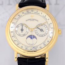 Vacheron Constantin Patrimony Triple Calendar Weeks Yellow...