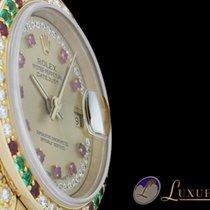 Rolex Lady-Datejust President Ladies 18kt Gelbgold mit Rubin,...