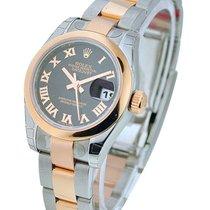Rolex Unworn 179161 Datejust Ladies - 2Tone Rose and Steel -...