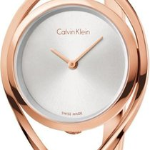 ck Calvin Klein LIGHT K6L2S616 Damenarmbanduhr Swiss Made