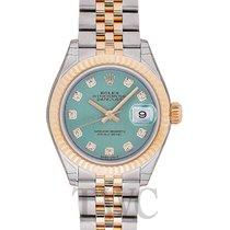Rolex Lady-Datejust 28 Mint Green Steel/18k Yellow Gold G 28mm...