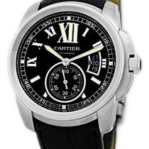 "Cartier ""Calibre de Cartier"" Strapwatch."