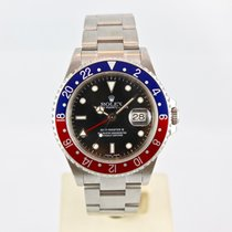 Rolex GMT-Master II 16710 Pepsi K-Series with Rolex Papers